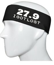 27.9 I Got Lost Marathon Your Color Cotton Stretch Sports Yoga Softball Headband