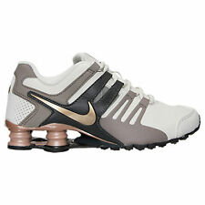 Women's Nike Shox Current Running Shoes Wht Iron Blk Storm 639657 022