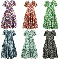 50s DRESS VINTAGE STYLE FIT AND FLARE FULL SKIRT ROCKABILLY SWING RETRO DAY TEA