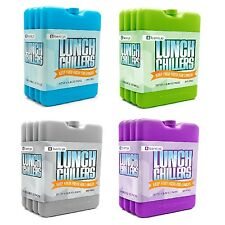Ice Lunch Chillers Ultra-thin Ice Packs Coolers Cold and Fresh Food