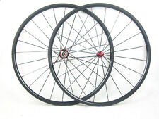 23mm width carbon fiber bike24mm Clincher wheels 700C road bicycle wheelset