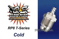 O.S. Glow Plug Type RP8 Cold Outlast the Hottest Heats with Turbo Head Engines