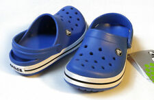 Crocs Kids Crocband Sea Blue All Size C4/5 C6/7 C8/9 C10/11 C12/13 J1 J2 J3