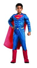 Batman v Superman Deluxe Superman Child Costume, Red, Rubies