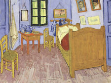 The Bedroom at Arles, c.1887 Art Print by van Gogh, Vincent Wall Decor Art Home