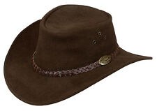 Jacaru Suede Leather hat Australian made for golf sport COWBOY OUTBACK FISHING