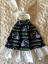 Seattle Seahawks Girls Dress Size 3 Months, 6 Months and 12 Months