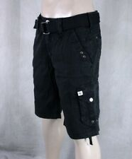AFFLICTION  Men's WILDFOX cargo shorts black 10WS415