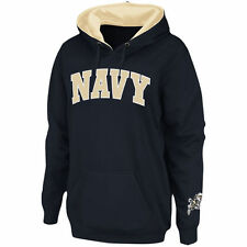 Stadium Athletic Navy Midshipmen Women's Navy Arch Name Pullover Hoodie