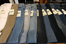 Levis Mens New Tags Colors Sizes Fit Straight Leg Regular 505 Slim 511 501 514