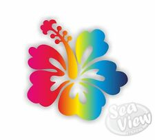 30 Hibiscus Flower Car Van Bedroom Window Wall Stickers