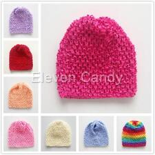 Newborn Baby Girl Boy Kids Crochet Knit Beanie Hat Handmade Costume Cap Photo