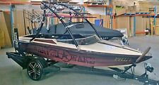 "Wakeboard boat  tower ""the Jaws in Black"" By Wanted Wake,"