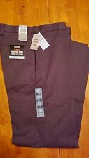 Dockers - The Original Signature Khaki -Straight Fit- Flat Front Pants Gray NWT