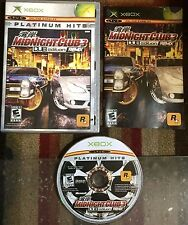 MIGNIGHT CLUB 3 DUB EDITION REMIX XBOX COMPLETE GOOD SHAPE TESTED