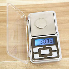 Pocket Digital Jewelry Scale Weight 200g/0.01g 500g/0.1g Gram Balance Electronic