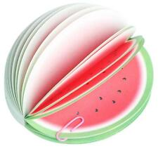 Newest Portable Cute Memo Sticky Fruit Shape Note Pads Scratch Paper Notepads