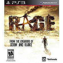 Rage: Anarchy Edition  (Sony PlayStation 3, 2011) - PS3 COMPLETE + SLIP COVER
