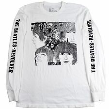Beatles REVOLVER Album Cover Long Sleeve T-Shirt NEW Authentic & Official RARE!