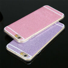 Luxury Bling Spakle Glitter Hard Plastic Back Case Cover For iPhone 6 6S Plus