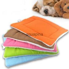 Pet Dog Cat Sleep Mat Kennel Pad Puppy House Crate Nest Bed Cushion 5Color S/M/L