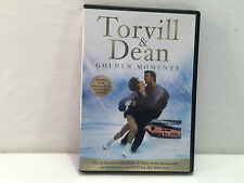 Torvill and Dean Golden Moments INCLUDES 5 ROUTINES FROM DANCE ON ICE FREE UK PP