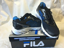 Fila Indus Coolmax Mens Sneakers Tennis Athletic Shoes Blue or Lime
