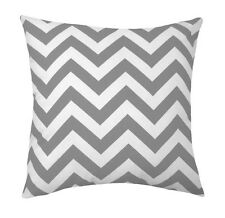 Grey Pillow, Grey Chevron Pillow, Zig Zag Storm Gray Throw Pillow, Chevron Gray