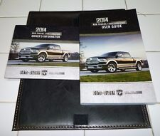 2014 DODGE RAM USER GUIDE OWNERS MANUAL SET w/case 14 DVD 1500 2500 3500
