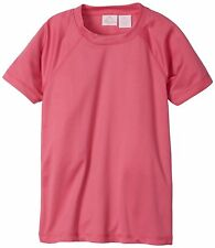 Kanu Surf Mens Swimwear Big Girls Solid UPF 50+ Swim Tee- Choose SZ/Color.