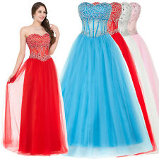 New Quinceanera Dress Formal Prom Party Pageant Ball Evening Bridal Wedding Gown