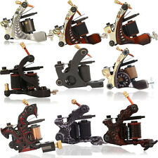 8/10 Wrap Coils Low-Carbon Steel Hand Assembled Tattoo Machine Liner Shader Gun