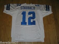 ROGER STAUBACH DALLAS COWBOYS #12 WHITE JERSEY - SELECT SIZE - STITCHED