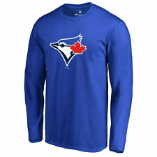Toronto Blue Jays Royal Team Color Primary Logo Long Sleeve T-Shirt