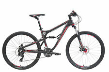 FACTORY DS180 650B 27.5 inch Dual Suspension Mountain Bike Black/Red