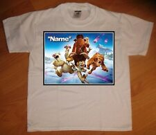Ice Age Collision Course Run Personalized T-Shirt - NEW