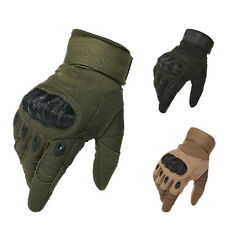 Tactical Airsoft Motorcycle Cycling Paintball Outdoor Knuckle Full Finger Gloves