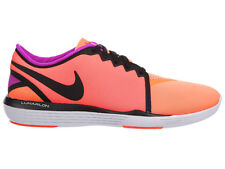 NEW WOMENS NIKE LUNAR SCULPT  RUNNING SHOES TRAINERS TOTAL CRIMSON / BLACK / TOT