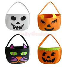 Halloween Party Cat Trick or Treat Tote Bags Kids Loot Candy Bag Toy 4 Styles