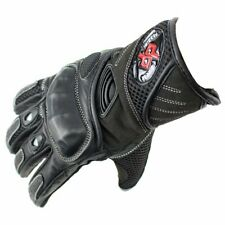 Perrini Pro Biker Motorcycle Gloves Racing Leather Motorbike Gloves with Hard Kn