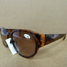 Joy Mangano Bifocal Sunglass Readers -  TORTOISE - Choose Strength