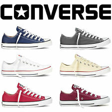 Mens Women Lo Top Unisex Converses All Star Low Tops Chuck Taylor Trainers Shoes