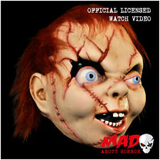 Official CHILD'S PLAY BRIDE OF CHUCKY Latex Mask Evil Film Halloween Scary Movie