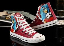 New Converse All Star Marvel Avengers Hi Tops Deep Red Unisex