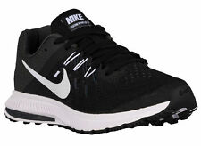 NEW WMNS NIKE ZOOM WINFLO 2 RUNNING SHOES TRAINERS BLACK / ANTHRACITE / WHITE