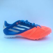 Adidas XCS 3 M Spikes Running Track Field G62983 Blue Neon Orange Silver New