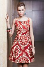 NIP Anthropologie Legend & Song Dutch Wax Dawa Dress Sz 10