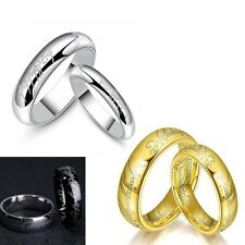 1pcs Punk Lord of the Rings The One Ring Lotr Titanium Steel Men's Ring Jewelry