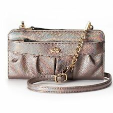 NEW! Juicy Couture Small Zip Convertible Wristlet Wallet Clutch Bag