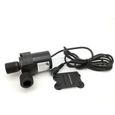 Javtop DC12V/24V Micro DC Submersible Water Fountain Pump 580-650 L/H
